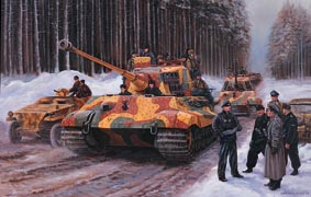 German Armour - Ardennes Offensive.