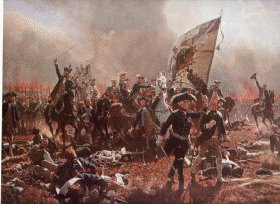 Frederick the Great - Battle of Zondorf.