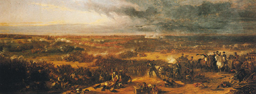 Panorama of the Battle of Waterloo