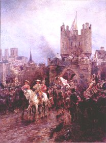 The Surrender of York to the Roundheads.